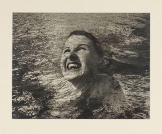 Blanc & Demilly. La nageuse 1950. Via artnet