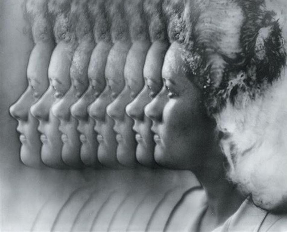 Blanc & Demilly. Profils 1935-1939. Photomontage solarisé. Via artnet