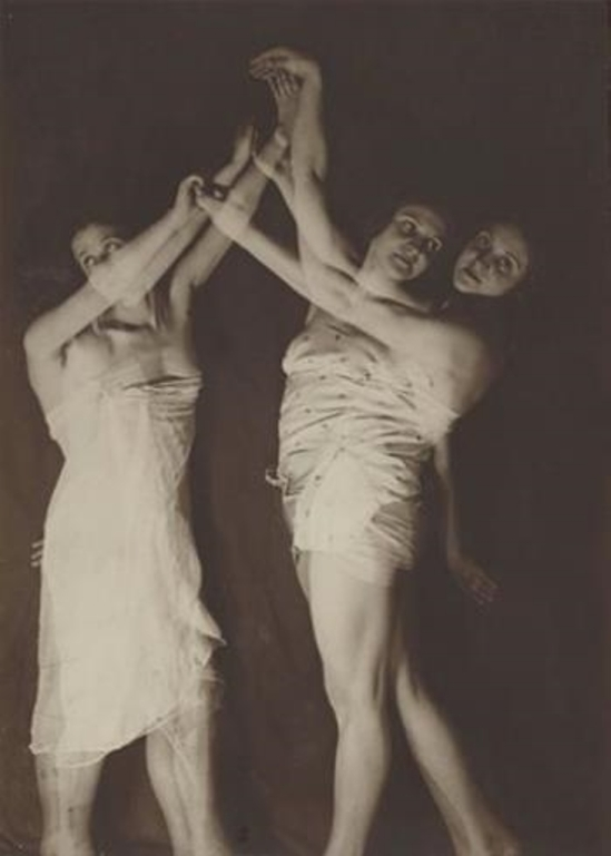 Georgi Zimin. Dance study 1920. Via mutualart
