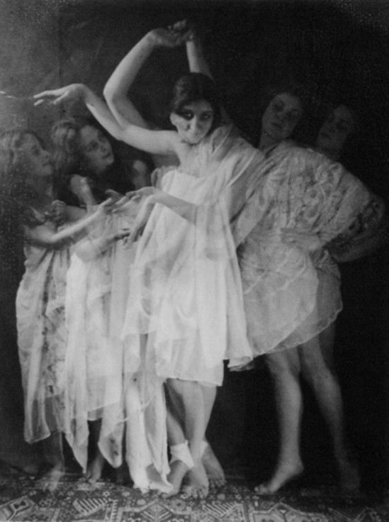 Georgi Zimin. Scriabin in Lukin's dance 1923. Via nailyaalexandergallery
