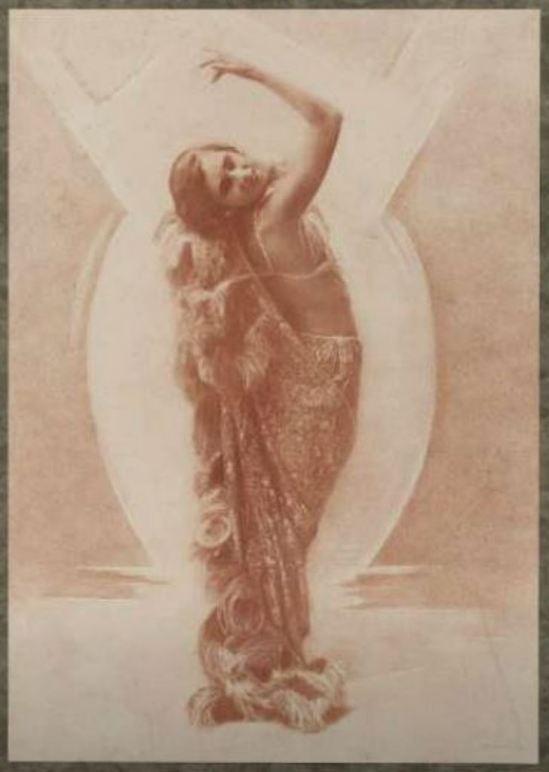Jacob Merkelbach. Dansende vrouw 1920-1940