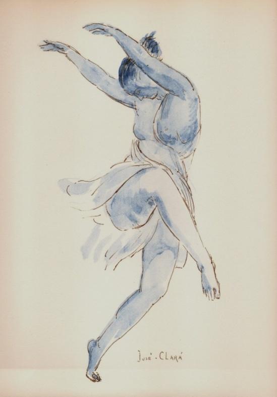 Jose Clara. Isadora Duncan 1927