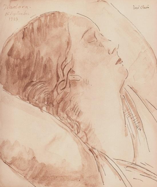 Jose Clara2. Isadora Duncan 1927