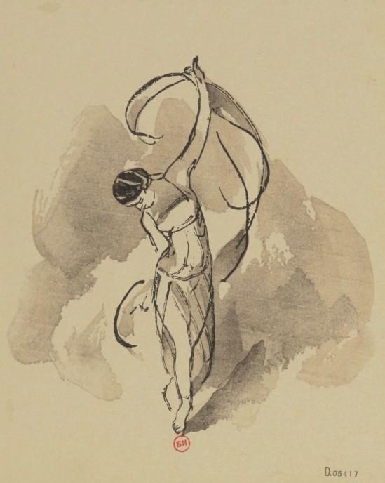 Jules Chadel. Isadora duncan 1937