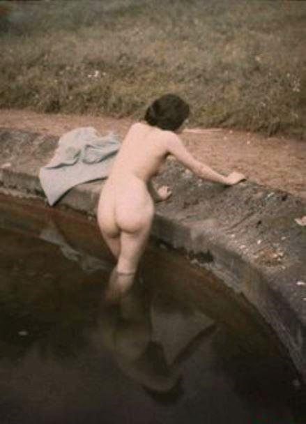 Léon Gimpel. Le bain 1912 ®SFP