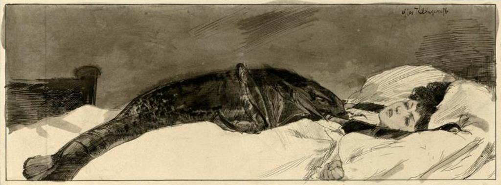 Max Klinger. Alpdruck 1878