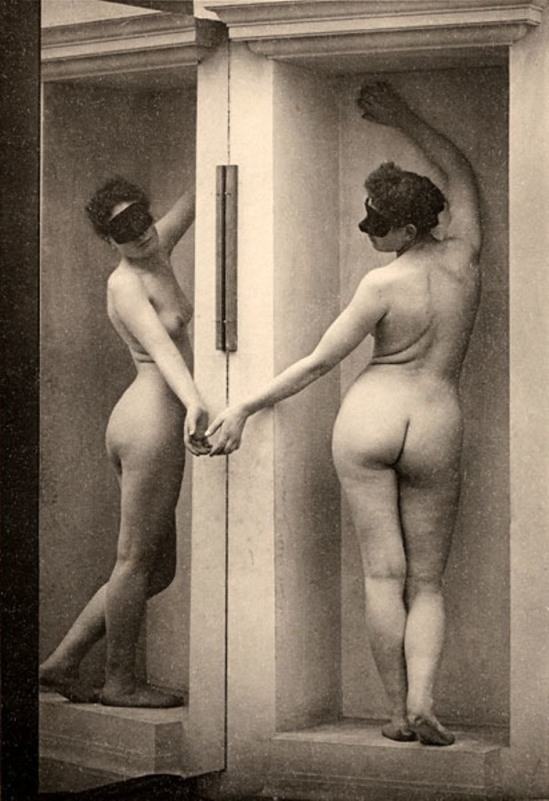 Max Koch & Otto Rieth. From der act 1890s. Via hintmag