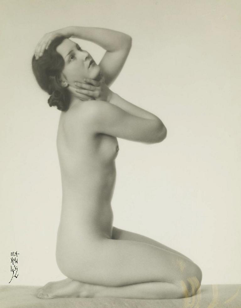 Moise Benkow (1892-1952). Junges Modell 1932. Via modernamuseet.png