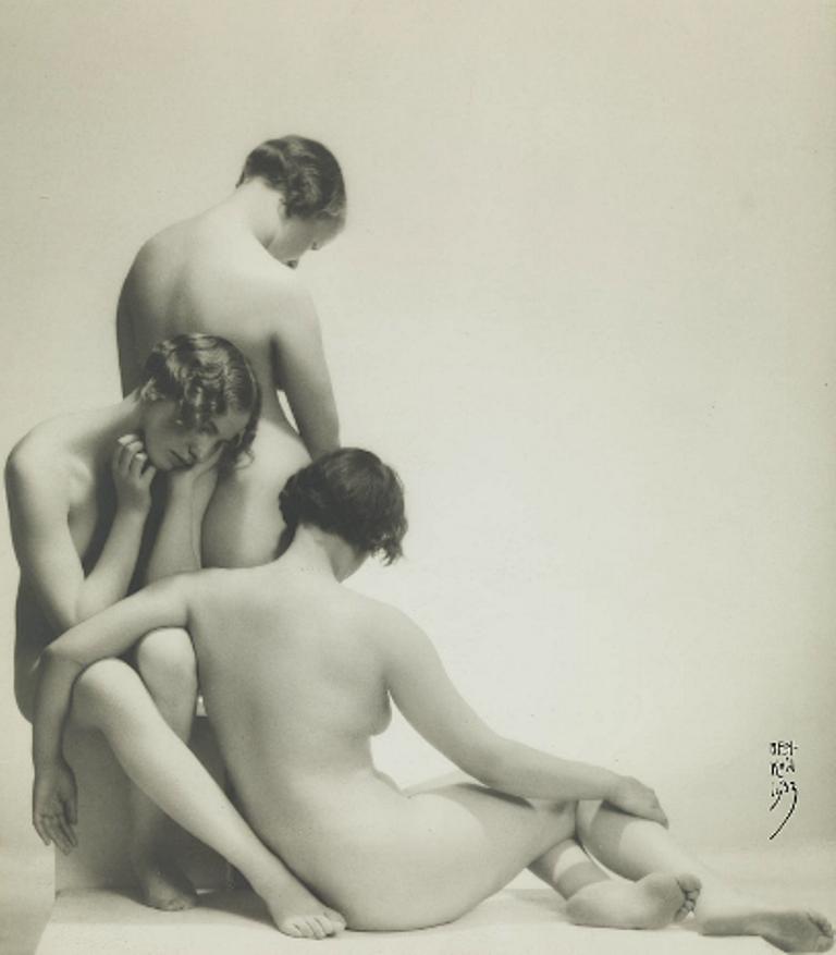 Moise Benkow (1892-1952). Sorrow 1933. Via modernamuseet