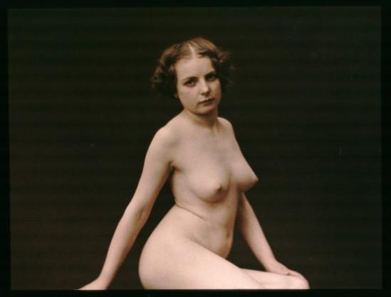 Robrt demachy. Nu féminin assis 1907-1915. Via bnf