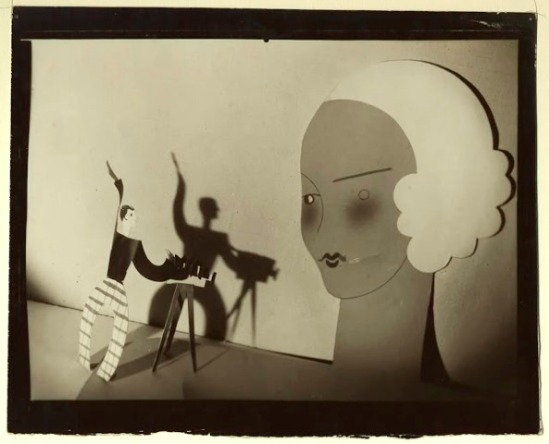 Theodore Blanc et Antoine Demilly. Demilly vu par lui-même 1920. Via toutceciestmagnifique