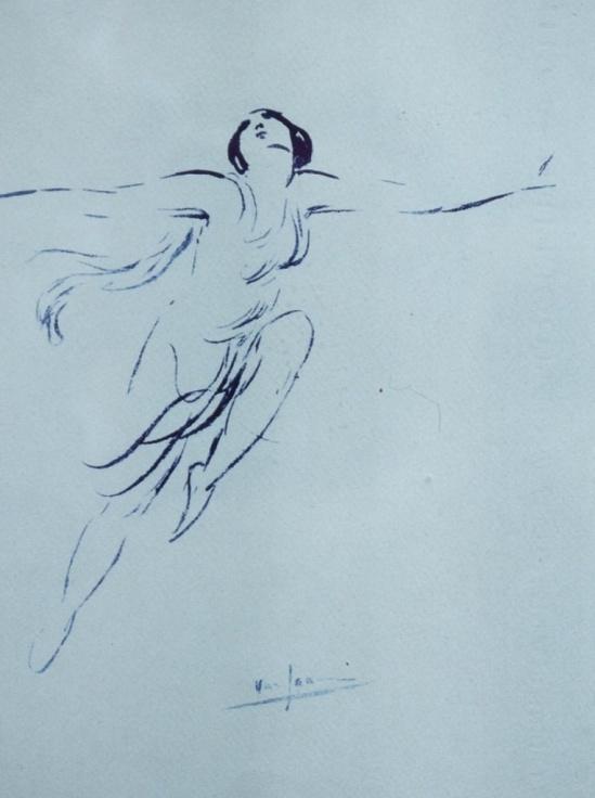 Van Dearing Perrine. Isadora Duncan