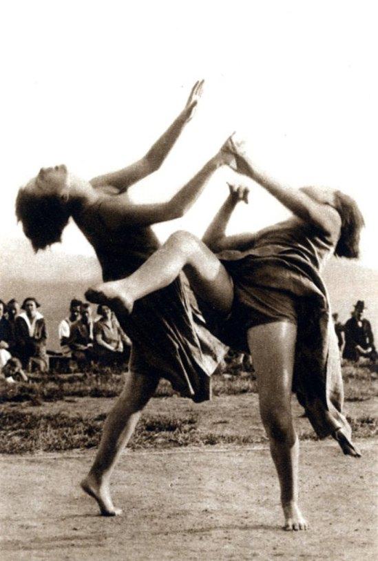 Wagner. Tanzgruppe Olga Suschitzky 1927 (Rudolf Lämmel). Der Moderne Tanz, Oestergaard, Berlin o. J. Via tanzat