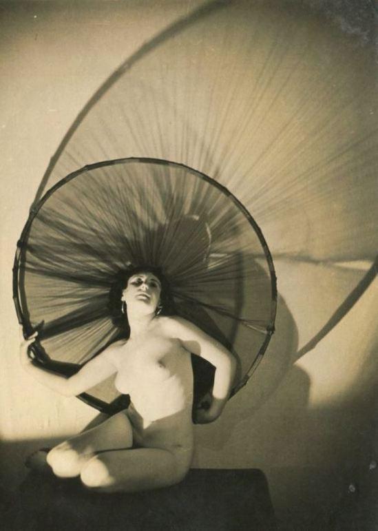 Bernard Leedham3. Nude study 1920. Via ebay