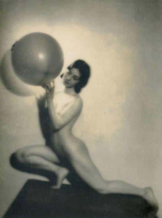 Bernard Leedham4. Nude study 1920. Via ebay