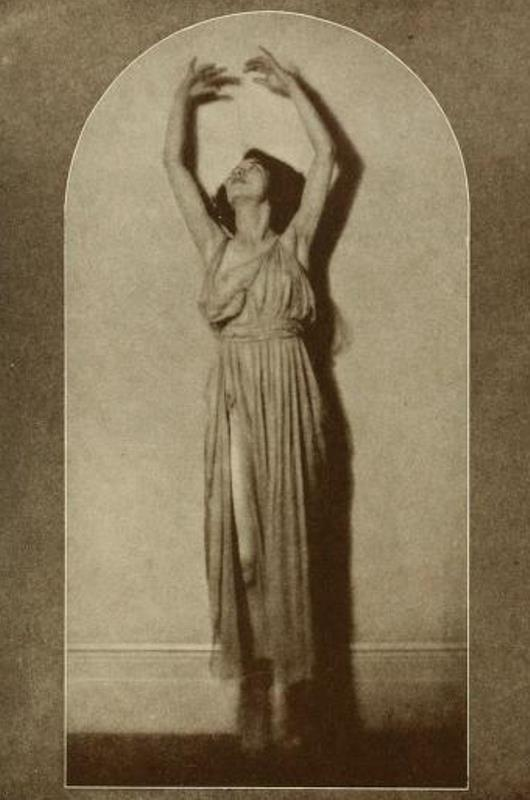 From the book 11 Dancing with Helen Moller 1918