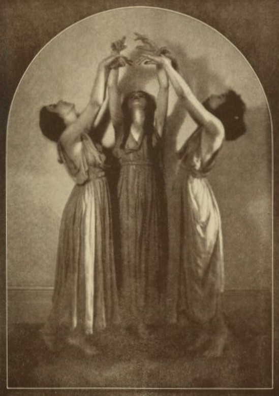 From the book 12 Dancing with Helen Moller 1918