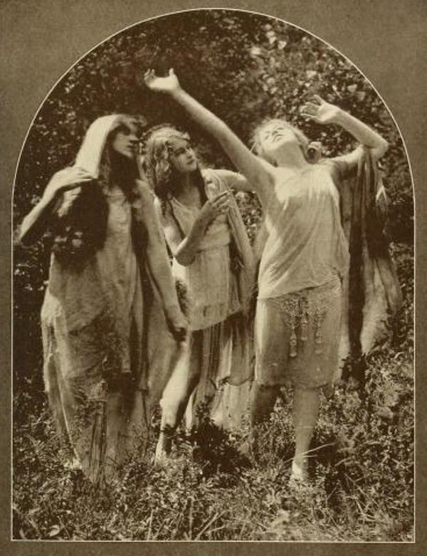 From the book 14 Dancing with Helen Moller 1918