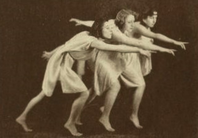 From the book 16 Dancing with Helen Moller 1918