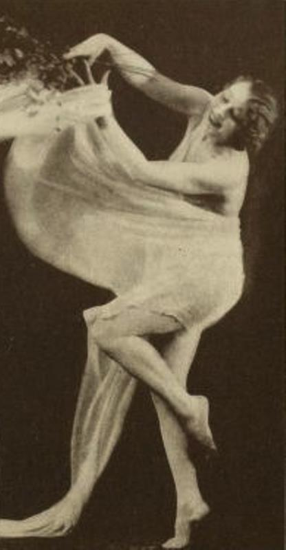 From the book 3 Dancing with Helen Moller 1918