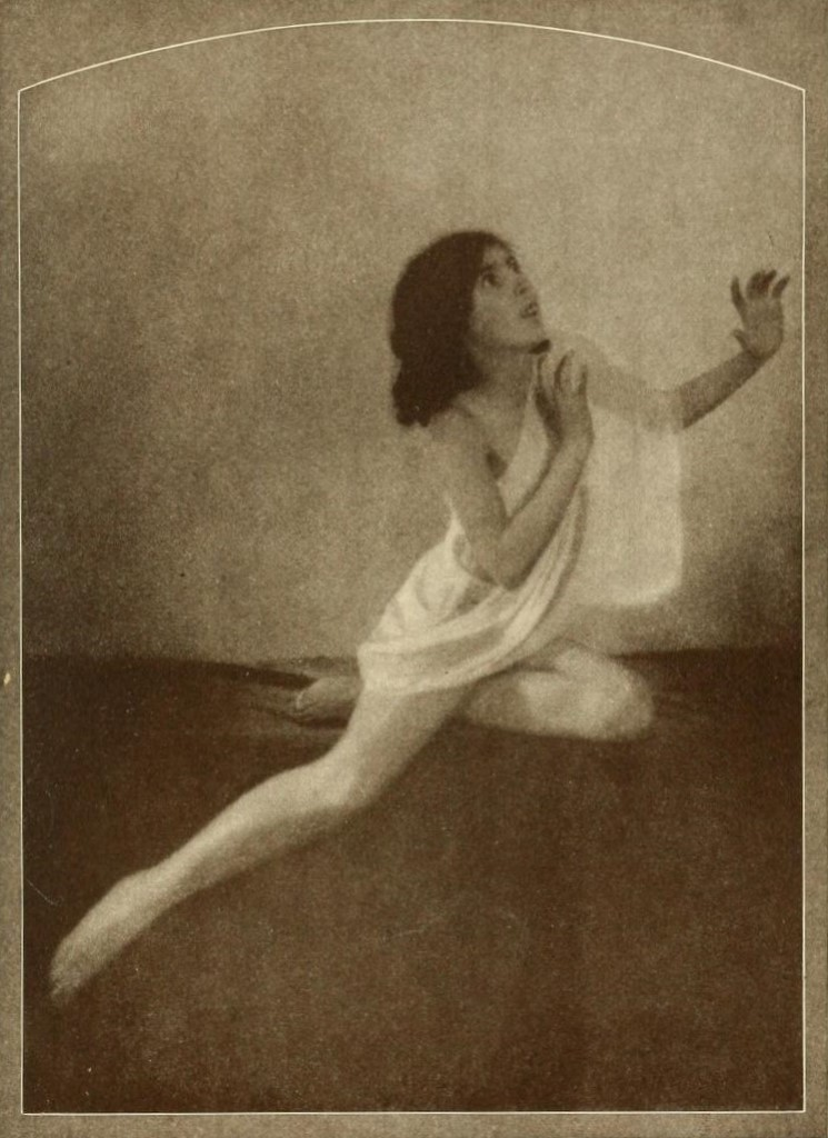 From the book 5 Dancing with Helen Moller 1918