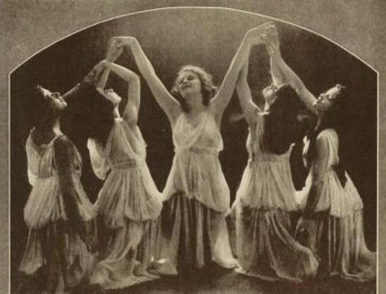 From the book 8 Dancing with Helen Moller 1918