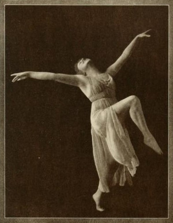 From the book 9 Dancing with Helen Moller 1918