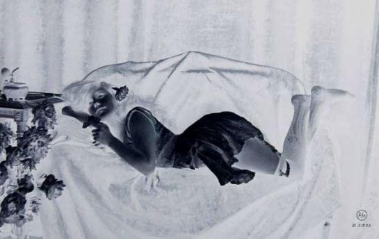 Jean Angelou. Glass négative photo vers 1900