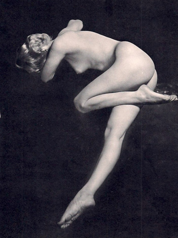 Lucien Lorelle. Low Key Nude. Via invaluable