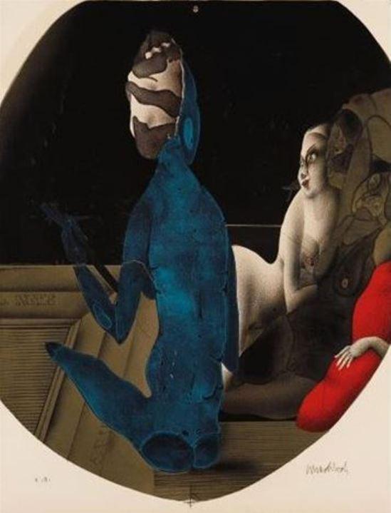 Paul Wunderlich. Le bain turc II 1973
