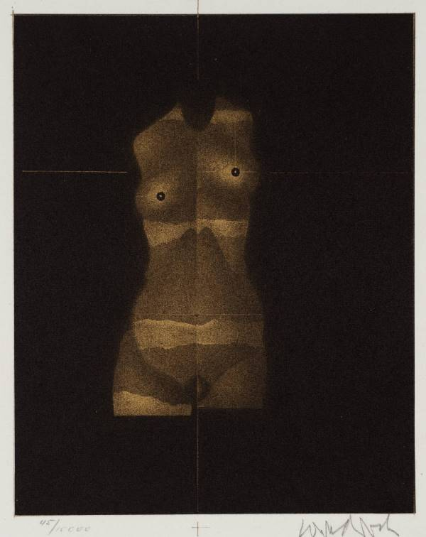 ®Paul Wunderlich. From the book  by Jens Christian Jensen1980